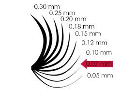 0.07 mm