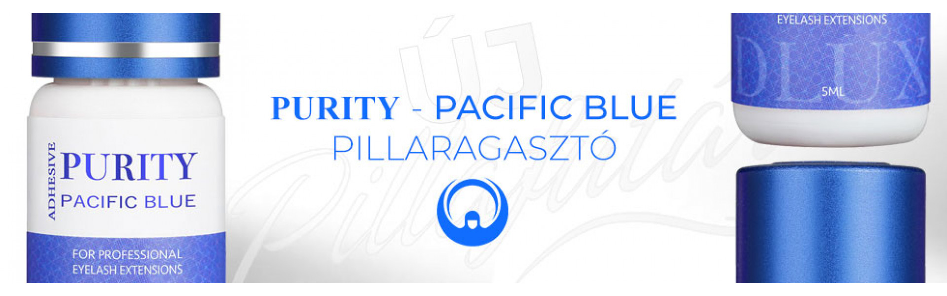 Dlux Professional ragasztó - PURITY PACIFIC BLUE 5ml
