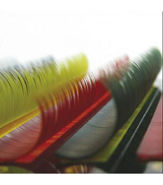 12mm x 0.15, B curl, 12 soros színes pilla