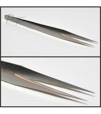Egyenes szempilla csipesz - 13 cm-es