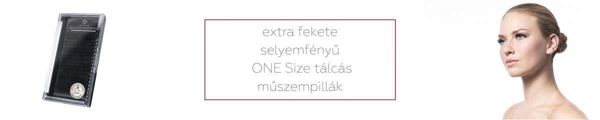 One Size tálcás pillák