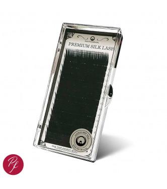 10mm X 0.15, DD curl, 16 soros Premium SILK pilla - IDEIGLENES KÉSZLETHIÁNY!