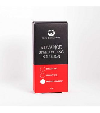 DLUX száradást gyorsító, optimalizáló folyadék 15ml - Eper illat - IDEIGLENES KÉSZLETHIÁNY!